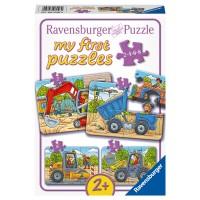 RAVENSBURGER Puzzle Baustellenfahrzeuge