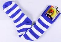 Waggissocken blau-weiss gestreift Grösse 37-42