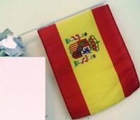 Autofahne Spanien