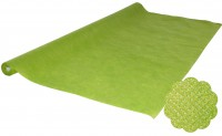 Hellgrüne Tischtuchrolle
