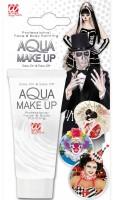Weisses Aqua Make-Up