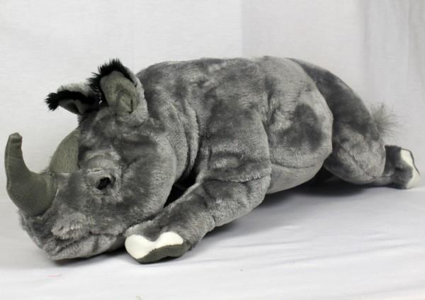 Plüsch Nashorn 70cm liegend