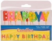 Geburtstagskerzen HAPPY BIRTHDAY