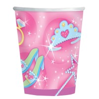 Amscan 8 Becher 270ml Prinzessin