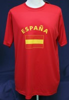 T-Shirt Spanien 122cm