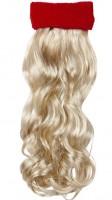 Stirnband mit Haarteil blond