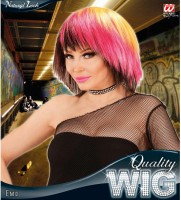Punkige Emo-Perücke für Frauen