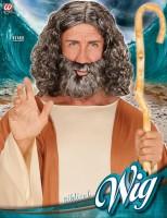 Biblische Perücke und Bart