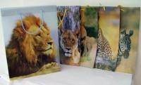 Geschenktasche wilde Tiere