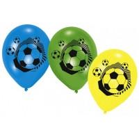 6 Fussball Ballone