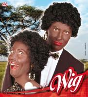 Perücke Afro