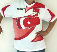 Shirt Türkei (Kindergrösse) L