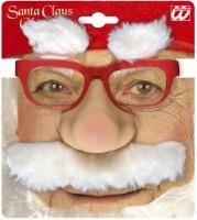 Nikolausbrille mit Nase, Schnauz und Augenbrauen