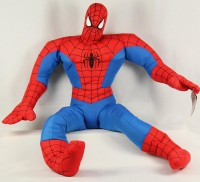 Plüsch Spiderman 85cm rot/blau