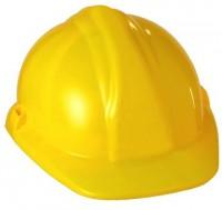 Helm Bauarbeiter gelb