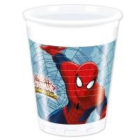 8 Becher Spiderman 200ml