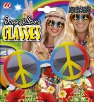 Brille Hippie Love Peace