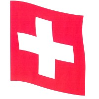 Sombo Schweizer Hissfahne Polyester