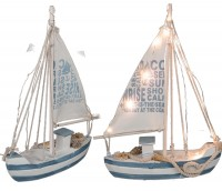Holz Segelschiff