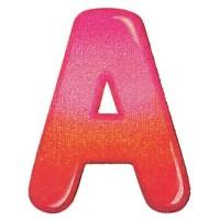 Holzbuchstaben A, selbstklebend
