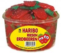 Haribo Riesen-Erdbeeren 15g x 75
