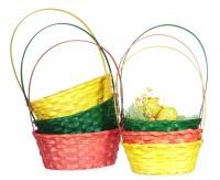 Osterkörbchen mit Henkel oval