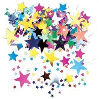 Deko-Konfetti Sterne