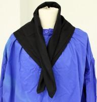 Waggis Halstuch schwarz 80x80cm 65% Polyester, 35% Baumwolle