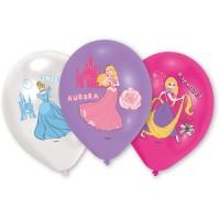 Amscan 6 Ballone Prinzessin farbig