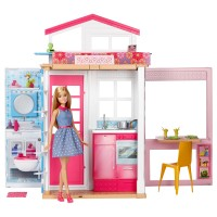 BARBIE ACCESSORIES Barbie Ferienhaus & Puppe