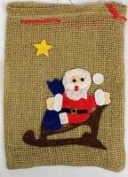 Jutesack Weihnachtsmann
