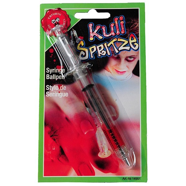 Spritzen Kuli Kugelschreiber