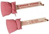Schnarchstopper Holz 40cm mit Kissen und Spruch