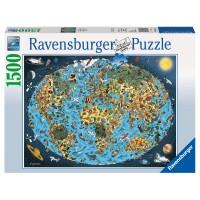 RAVENSBURGER Puzzle Kunterbunte Erde