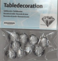 Tischdekoration Diamanten 20mm