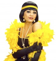 Gelbe Federboa