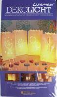 Big Deko Licht Tüte 8er Set Spring-Summer 15 x 26cm