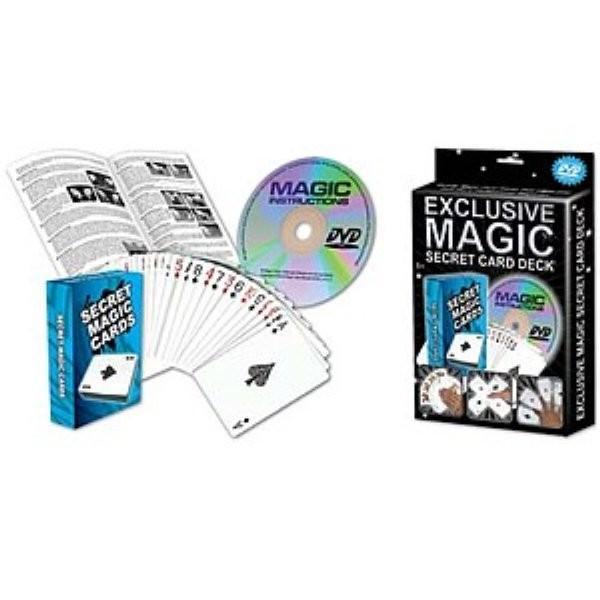 Zauberset 20 Secret Card Deck geheime Karten exclusiv magic