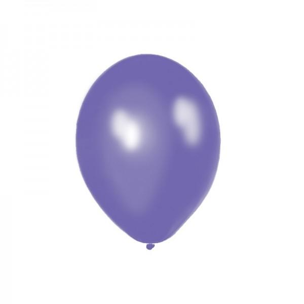Ballone 50 Stueck 27,5cm Latex violet