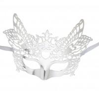 Dominomaske Venezianisch silber
