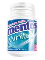 Mentos Gum White Breeze Mint 75g Bottle x 6