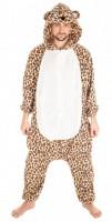 Leopardenkostüm für Erwachsene 180cm