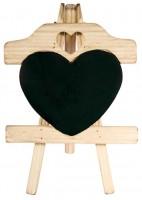 Holz Staffelei mit Herz