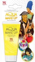 Gelbes Aqua Make-Up