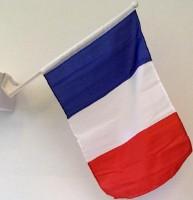 Autofahne Frankreich
