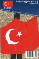 Umhang Türkei Flagge