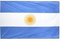 Fahne Argentinien 90x150cm mit Ösen