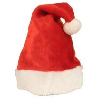 Fasnacht Nikolausmütze aus Plüsch