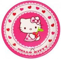 Einweg Pappteller Hello Kitty