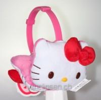 Hello Kitty Ohrenwärmer Plüsch Pink Kids